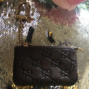 Gucci Signature Key Case & Card Holder
